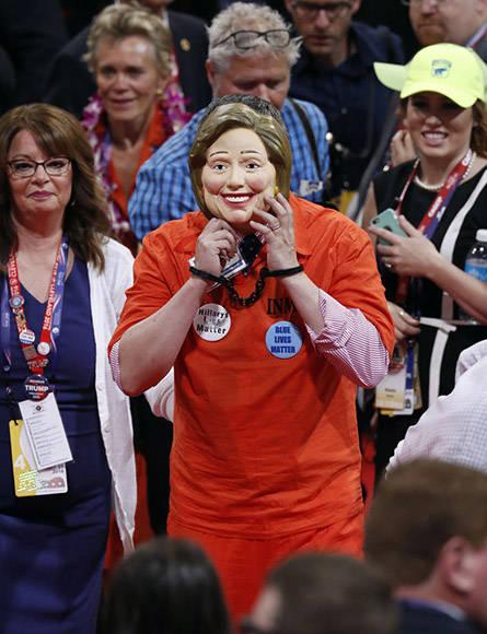 Se pidió prisión para Hillary Clinton. Foto: AP.