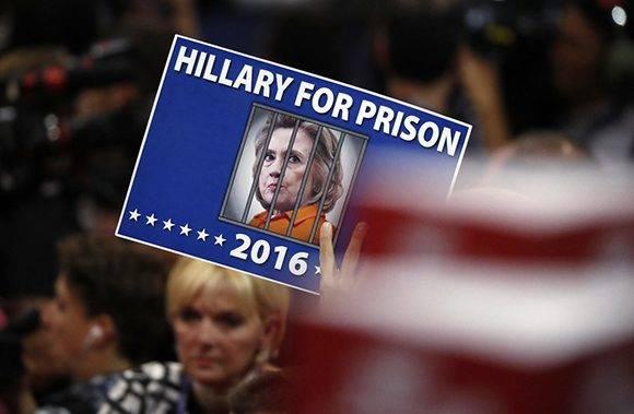 Reclamos de cárcel para la rival. Foto: AP.