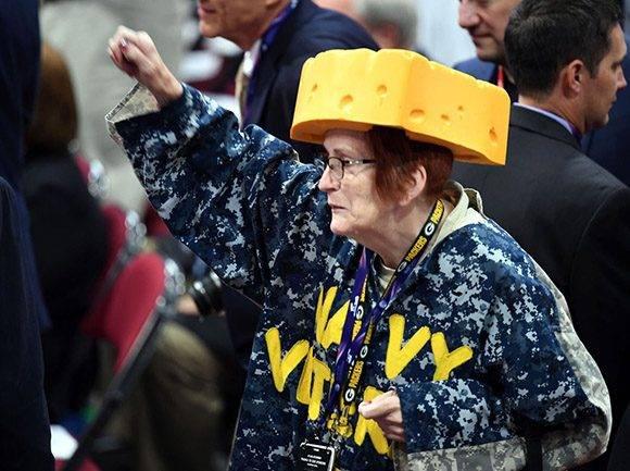Convención Republicana. Foto: AFP.