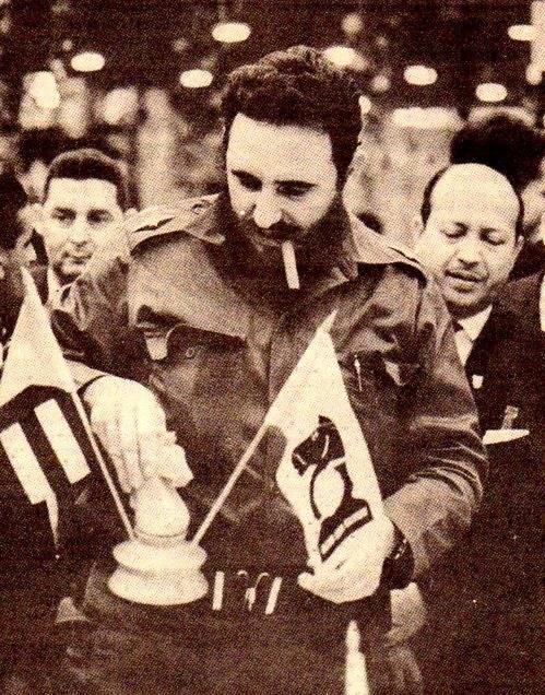 El etadista en la Olimpíada de La Habana 66.