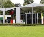 El pabellón de Le Corbusier en el museo Heidi Weber de Zurich. Foto: EFE.