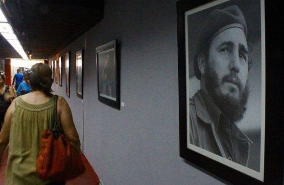 Algunas de las más conocidas fotos de Fidel fueron captadas por Livorio Noval e Ismael Francisco. Foto: José Raúl Concepción/ Cubadebate.