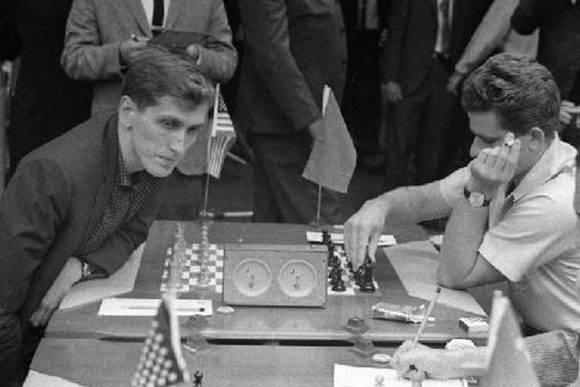 Fischer vs Spassky, en La Habana, 1966.