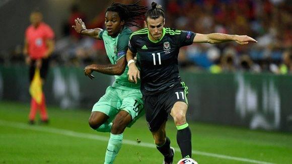 Gareth Bale y Renato Sanches. Foto: UEFA.