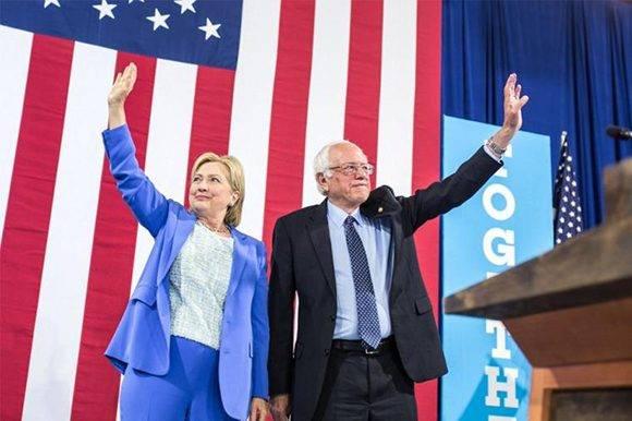 Hillary-Sanders