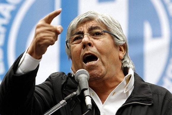 Hugo Moyano, aspirante a la presidencia de la AFA. Foto tomada de La Nación.
