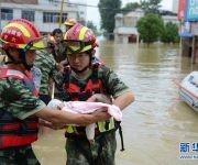 Inundaciones en China