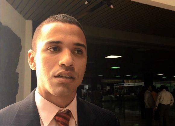 Jorge Luis Mazorra es el segundo diputado más joven de la Asamblea Nacional. Foto: Cubadebate.