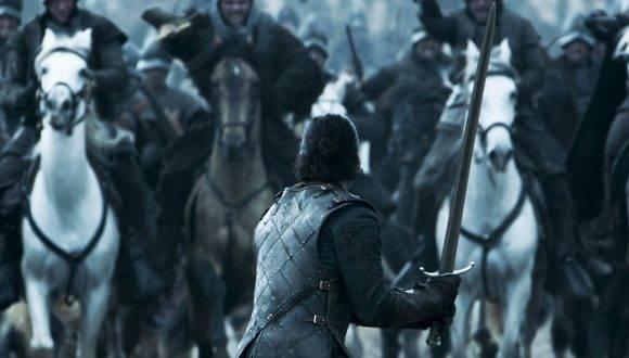 Imagen del noveno capítulo de la sexta temporada, uno de los más populares de toda la serie. HBO confirmó que a Juego de Tronos sólo le restan 13 episodios y dos temporadas. Foto: HBO.