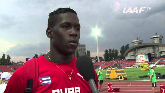 Lázaro Martínez durante una entrevista en 2013. Foto: Archivo de la IAAF