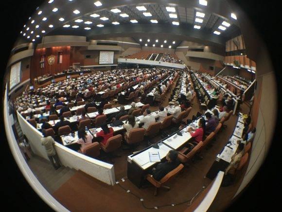 La Asamblea en 360 grados. Foto: José Raúl Concepción/ Cubadebate