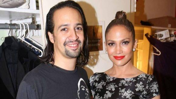 Lin-Manuel Miranda y Jennifer López. Foto tomada de elsalvador.com