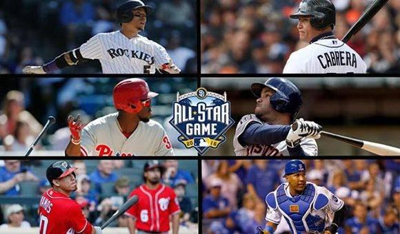 Varios latinoamericanos presentes en el Juego de las Estrellas de la MLB.