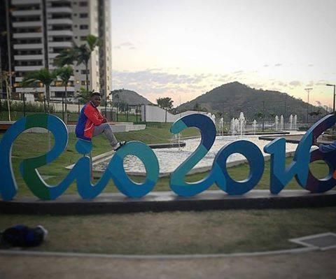 Manrique Larduet en Río 2016. Foto: Cuenta en Facebook de Manrique