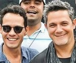 Marc Anthony y Alejandro Sanz