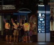 El despliegue policial sigue en el centro de la ciudad