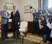 """Sánchez dice que tiene una relación cordial con Rajor pero que su partido """"a día de hoy"""" no le apoyará. Foto: EFE."""