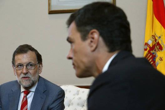 Sin la abstención del PSOE, es probable que Rajoy no pueda gobernar. Foto: EFE.