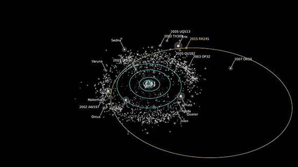 El nuevo planeta enano cambia el mapa del sistema solar.