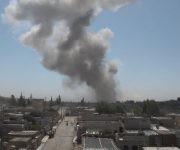 Atentado en la ciudad siria de Qamishli. Foto: @Lligams.