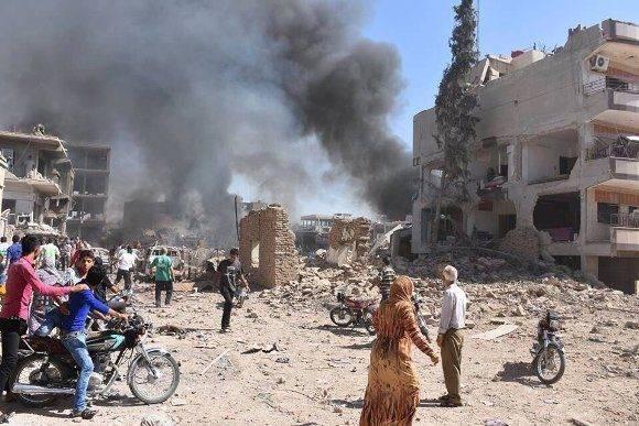El Estado Islámico se adjudica la autoría. Foto: @Lligams.