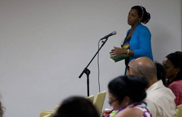 Trabajo en la Comisión de Salud y Deporte. Foto: Ladyrene Pérez/ Cubadebate.