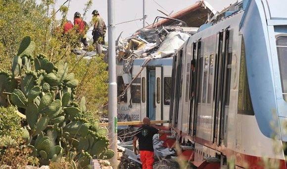 """""""Es una tragedia sin precedentes"""", ha declarado el director general de Ferrotramviaria, Massimo Nitti. Foto: EFE/Luca Turi."""