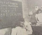 Alumnas de la primera escuela para campesinas, con sede en el Hotel Nacional, en La Habana. Foto: Cortesía de la entrevistada.
