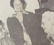 Alicia Imperatori, administradora de la primera escuela para jóvenes campesinas Ana Betancourt, junto a Elsa Gutiérrez y Elena Gil, directora de las Makarenko. Foto: Cortesía de la entrevistada.