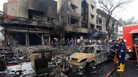 3 de julio de 2016 en Bagdad: jornada negra.