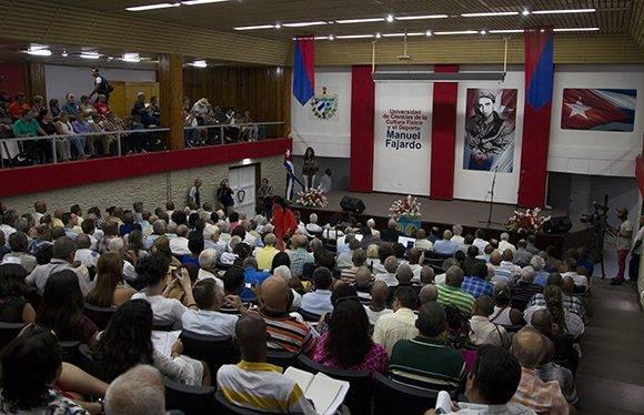 Acto central por el aniversario 50 de la epopeya del Cerro Pelado. Foto: Ladyrene Pérez/ Cubadebate.