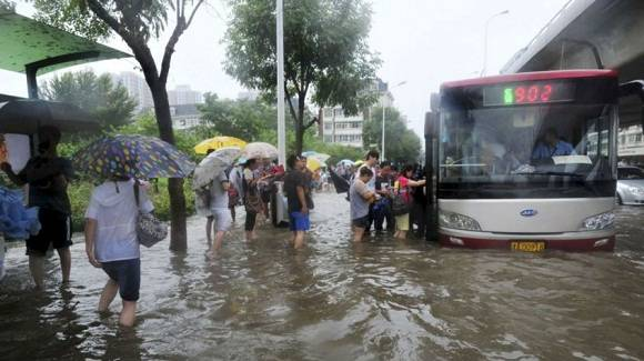 China on Alert of Heavy Rains