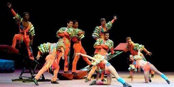 Espectáculo La báscula acrobática, de CirCuba.