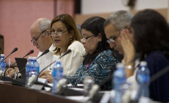 Comisión de Educación, Cultura, Ciencia, Tecnología y Medio Ambiente. Foto: Ladyrene Pérez/ Cubadebate.
