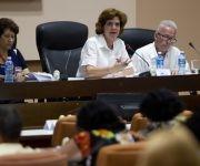 Intervenciones de diputados en la Comisión de Educación, Cultura, Ciencia, Tecnología y Medio Ambiente, durante el Séptimo Período Ordinario de Sesiones de la Octava Legislatura de la Asamblea Nacional del Poder Popular. Foto: Ladyrene Pérez/ Cubadebate.