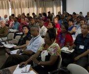 El Comandante Ramiro Valdés presente en la discusión de los temasrelativos a la Ley General de la Vivienda. Foto: Ladyrene Pérez/ Cubadebate.