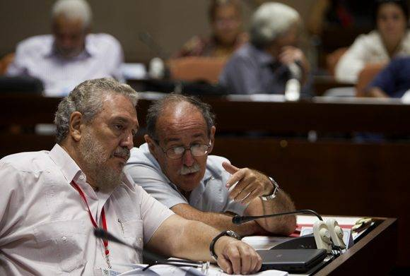 en la comisión de Educación, Cultura, Ciencia Tecnología y Medio Ambiente. Foto: Ladyrene Pérez/ Cubadebate.