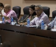 El vicepresidente cubano presente en la tercera jornada de la Asamblea. Foto: Ladyrene Pérez/ Cubadebate.