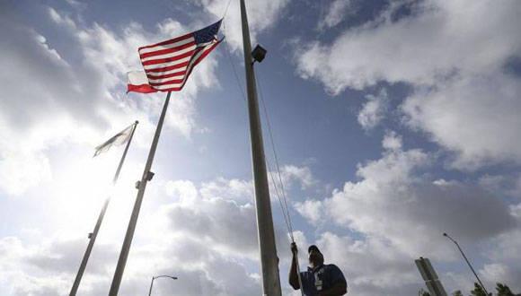 Decretan duelo nacional en Estados Unidos. Foto: AP: