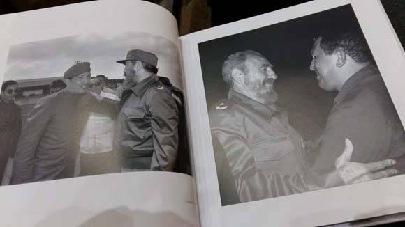 """Una de las fotografías del libro """"Fidel en imaginario mexicano""""."""