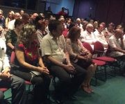 Diversas personalidades de la cultura cubana y mexicana estuvieron presentes en el Memorial José Martí, durante la presnetación de la obra Fidel en el imaginario mexicano. Foto: María del Carmen Ramón/ Cubadebate.