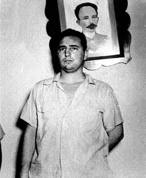 Fidel en el Vivac de Santiago de Cuba. Foto: Archivo.