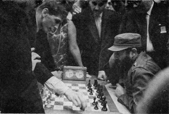 Fischer y Fidel.