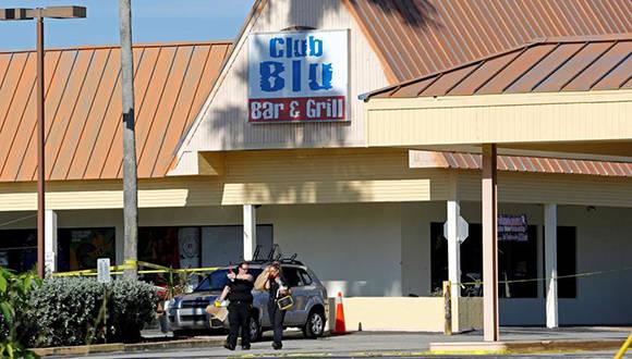 Imagen del exterior del club nocturno Fort Myers, en Florida. Foto: Reuters