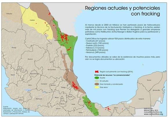 fracking en mexico
