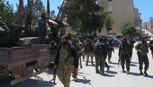 Frente al-Nusra. Foto: Archivo.