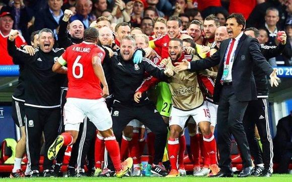 Gales-Bélgica por la Eurocopa 2016: Bélgica lo dio vuelta ante Gales.