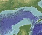 Imagen en 3D del Golfo de México. Foto: Archivo.