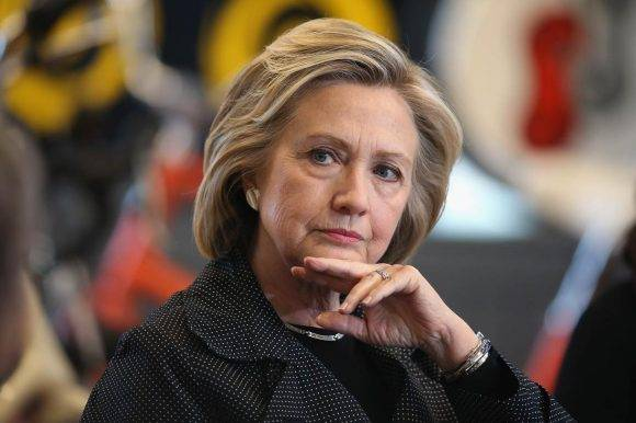 Hillary Clinton. Foto: Scott Olson/Getty Images)