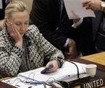 Hillary Clinton durante una reunión del Consejo de Seguridad de la ONU, el 12 de marzo de 2012. Foto: AP